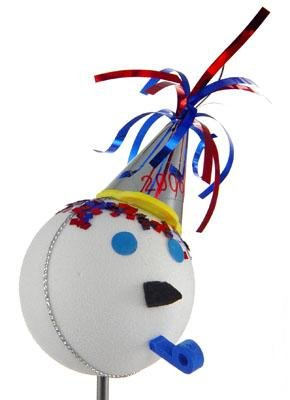 New Year's 2006 Jack In The Box Antenna Topper Ball