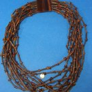 Gerda Lynggaard for Monies Horn Amber Choker  Tribal