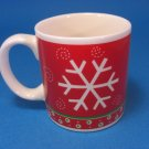 Princess House Snowflakes Mug