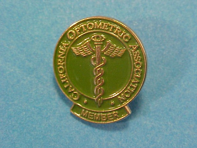 California Optometric Association Member Pin
