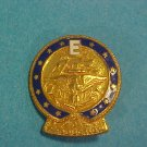 "Enameled US Navy  ""E""  for Production Pin"