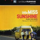 LITTLE MISS SUNSHINE March 2011 Mandell-Weiss Theatre San Diego PLAYBILL