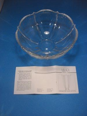New Mikasa Renaissance 8½� Crystal Bowl