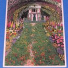 Claude Monet Art Postcards La Maison de Monet & Los Agapanthes