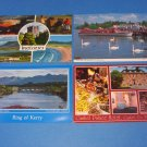 Ring Of Kerry Cashel Tipperary & Lake Windemere Ireland Postcards New