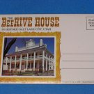 The Beehive House Souvenir View Folder from Salt Lake City, Utah