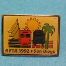 APTA 1992 San Diego Conference Pin