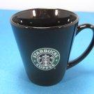 Starbucks Black with Green Siren Logo 14 oz. Coffee Mug 2007