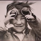 Tibetan Child by Francois Lochon Black and White Postcard