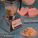 Osterizer 1966 Blender Manual and Cook Book
