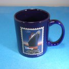 Disney Magic Cruise Boat Coffee Mug Cup Blue Ships Registry Bahamas Specs