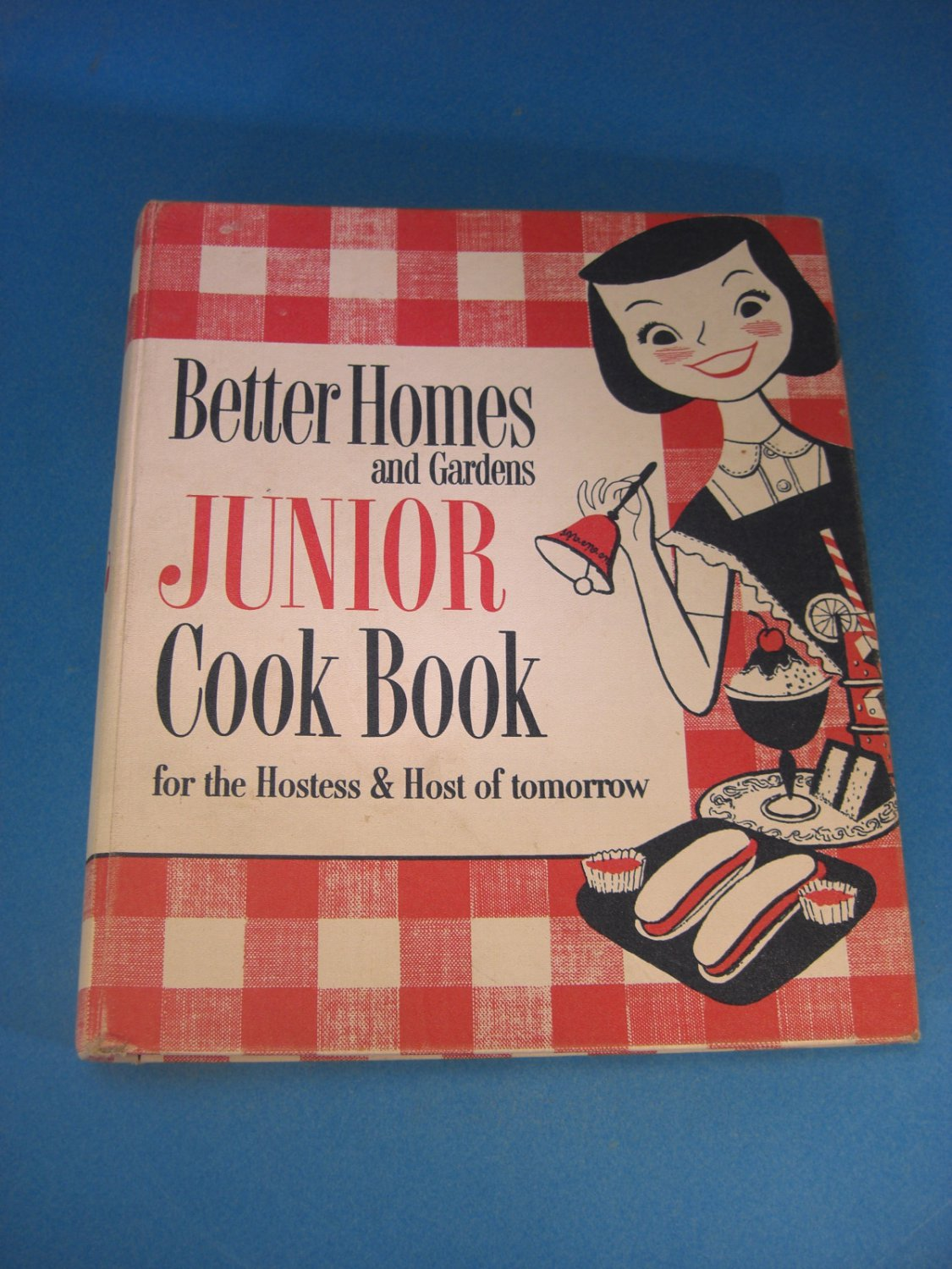 Better Homes And Gardens Bhg Jr Junior Cook Book 1955 First Edition
