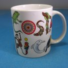 Costa Rica Animal Menagerie Ceramic  Mug