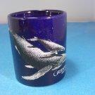 Greenpeace 1985 Pieter Folkens Humpback Whales Blue Mug