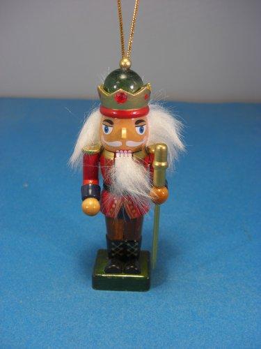 Christmas Nutcracker Wooden King 5''