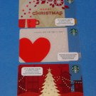 Starbucks Cards Christmas 2013 & Valentine's