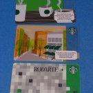 Starbucks Cards Rodarte Storefront & Aroma  2013