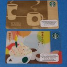 Starbucks Gift Cards Special Edition 2013