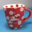 Disney Park Minnie Mouse Red Polka Dot Mug