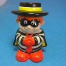 2004 Mcdonald's Hamburglar Figure Toy Pretend Play Mcdonald's Figure Toy
