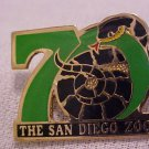 1986 San Diego Zoo Snake 70th Anniversary Lapel Pin