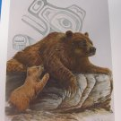 THE BEAR Art Card by Susan Coleman