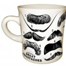Great Moustaches Ceramic Mug