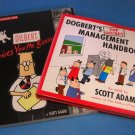 1996 Dogbert's & 1999 Dilbert Books by Scott Adams