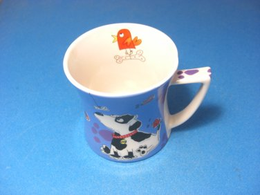Puppy Pooch Mug by Aurora Dog Lovers Pups Fine Bone China
