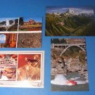 The Agrodome/Mount Cook/Queenstown/Geysers Whaka New Zealand Postcards