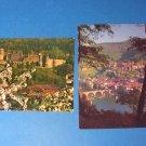 Heidelberg Castle Germany Postcards