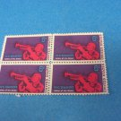 1969 W.C. Handy Stamps 6 Cent Plate Block Of 4