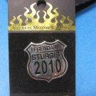 Legendary Sturgis 2010 Pin Motorcycle Rally Souvenir Biker Memorabilia
