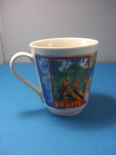 Brazil Ceramic Mug Chaleur Design for Diedrich Coffee