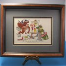 """Robert Marble SIGNED """"The Price We Pay For Artistic Expression"""" Framed Print"""