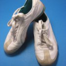 PUMA Women's White Leather Tennis Athletic Walking Jogging Shoes Size 7.5