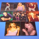 8 BUFFY 1997 Premiere Postcards Lot Sarah Michelle Gellar