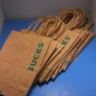 Starbucks Paper Bags Lot of 30
