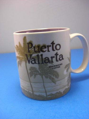 Starbucks Puerto Vallarta Mug City Collector Series 2016