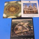 Windsor Castle & St Paul's Cathedral London Postcards