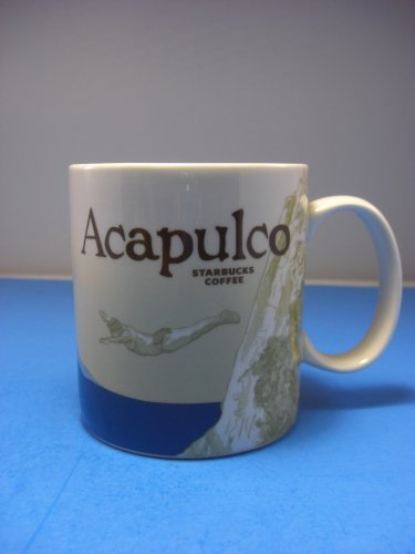 Starbucks Coffee Acapulco Global Icon Collector Series Mug 16 OZ