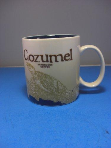Starbucks Coffee Cozumel Global Icon Collector Series Mug 16 OZ