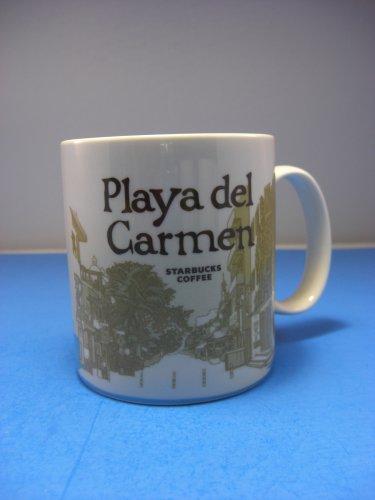 Starbucks Coffee Playa Del Carmen Global Icon Collector Series Mug 16 OZ