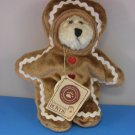 Boyds G.B. Gingerkeeper Rare Retired Gingerbread BEAR NWT