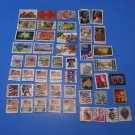 50 Used US Postage Stamps Lot Of Chinese New Year Plus More