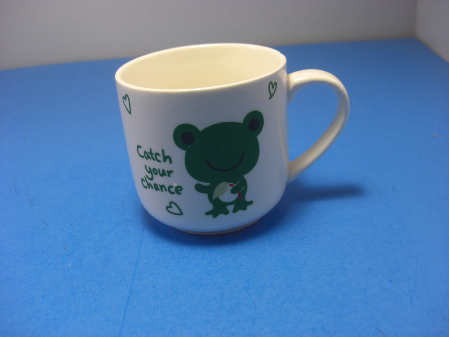 Green Frog Catch Your Chance Child's Mug