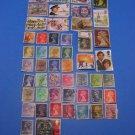50 Used British Postage Stamps Lot UK Prince Charles Princess Diana