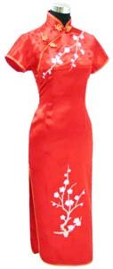 Sleeve Long Cheongsam  WSL-18
