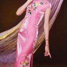Sleeve Long Cheongsam  WSL-24
