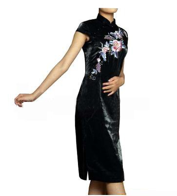 Sleeve Long Cheongsam  WSS-24a